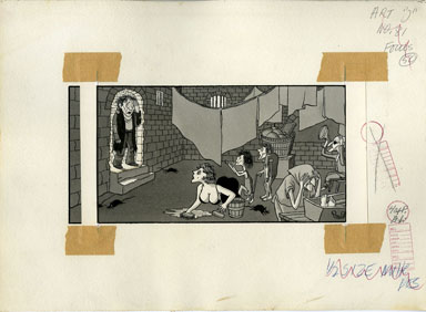 ARNOLD ROTH - TRUMP #2 MOVIES: ITALIAN REALISM ORIG ART