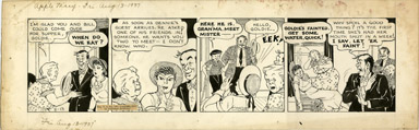 MARTHA ORR - APPLE MARY DAILY ORIGINAL ART 8-13-37