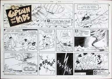 JOHN DIRKS - CAPTAIN & KIDS SUNDAY 5-30-71 TWISTER FLOM