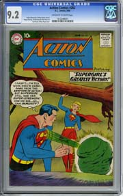 ACTION COMICS #262 (1960) CGC NM- 9.2 OWW pgs SUPERGIRL appr OTTO BINDER Story