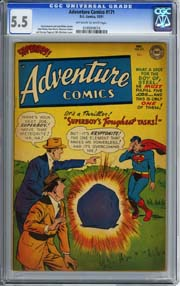 ADVENTURE COMICS #171 (1951) CGC FN- 5.5 OWW Pages SUPERBOY - PAUL NORRIS Art