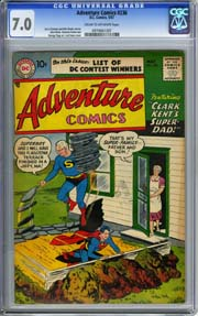 ADVENTURE COMICS #236 (1957) CGC FN/VF 7.0 SUPERBOY - CURT SWAN Cover