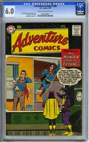 ADVENTURE COMICS #250 (1958) CGC FN 6.0 SUPERBOY - JACK KIRBY Art CURT SWAN cvr