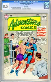 ADVENTURE COMICS #273 (1960) CGC VF+ 8.5 WHITE Pgs - SUPERBOY - SMALLVILLE