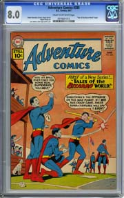 ADVENTURE COMICS #285 (1961) CGC VF 8.0 1st TALES of the BIZARRO WORLD- SUPERBOY