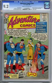 ADVENTURE COMICS #294 (1962) CGC NM- 9.2 BIZARRO as MARILYN MONROE & J F KENNEDY