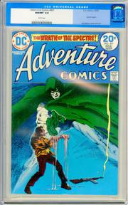 ADVENTURE COMICS #431 (1974) CGC NM/MT 9.8 WHITE Pg - SPECTRE - HIGHEST GRADED!