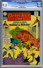 DETECTIVE COMICS #303 (1962) CGC NM- 9.2 COW Pgs - SAVANNAH - MARTIAN MANHUNTER