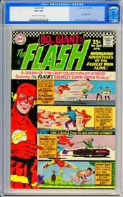 FLASH #160 (1966) CGC NM 9.4 OFF-WHITE TO WHITE Pgs - INFANTINO - 80 PAGE GIANT