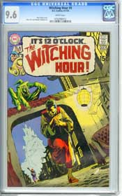 WITCHING HOUR #9 (1970) CGC NM+ 9.6 WHITE Pgs - NEAL ADAMS - ALEX TOTH