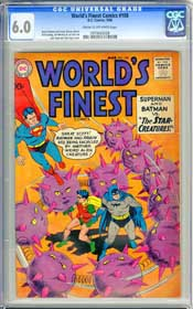 WORLD'S FINEST COMISC #108 (1960) CGC FN 6.0 - COW Pages