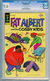 FAT ALBERT #12 (1976) CGC NM+ 9.6 OWW Pgs GOLF COURSE- FILE COPY HIGHEST GRADED!