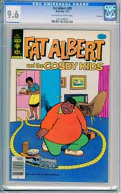 FAT ALBERT #29 (1979) CGC NM+ 9.6 OWW pages - TOY TRAIN  - FILE COPY