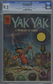 FOUR COLOR #1348 (1962) CGC NM- 9.2 COW Pages - YAK YAK - FILE COPY - JACK DAVIS