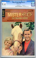 MISTER ED, THE TALKING HORSE #1 CGC 9.4 OW ONLY GRADED!