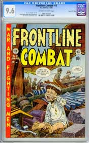 FRONTLINE COMBAT #10 (1953) CGC NM+ 9.6 OWW Pages - GAINES FILE COPY