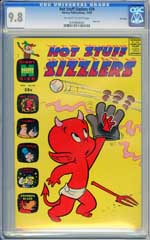 HOT STUFF SIZZLERS #39 (1969) CGC NM/MT 9.8 OWW Pg - FILE COPY - HIGHEST GRADED!