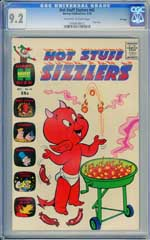 HOT STUFF SIZZLERS #42 (1970) CGC NM- 9.2 OWW Pages - FILE COPY - GIANT SIZE
