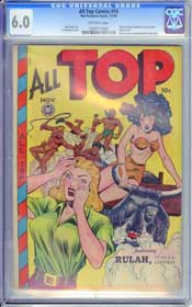 ALL TOP COMICS #14 (1948) CGC FN  6.0 OFF-WHITE Pages - PHANTOM LADY - RULAH