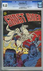 GHOST RIDER #1 (1950) CGC VF/NM 9.0 COW Pages - ORGIN OF GHOST RIDER