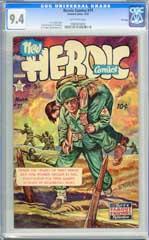 HEROIC COMICS #71 (1952) CGC NM 9.4 OWpg FRANK FRAZETTA