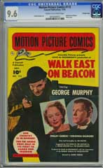 MOTION PICTURE COMICS #113 (1952)CGC NM+ 9.6 COW CROWELY WEST ON BEACON HIGHEST!