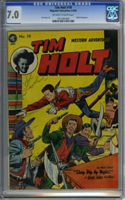 TIM HOLT #19 (1950) Dick Ayers Art Photo Frontispiece
