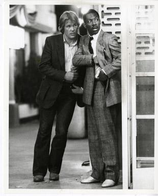 48 HRS. (1982) EDDIE MURPHY / NICK NOLTE / WALTER HILL - VINTAGE PUBLICITY STILL