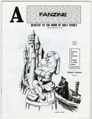 A FANZINE #2 (1969) WALT DISNEY / DISNEYLAND / THE LOVE BUG / DUCK FAMILY TREE