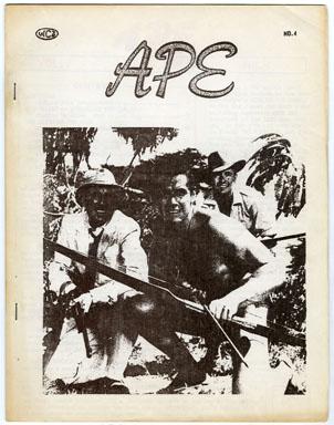 APE #4 (1961) FANZINE RON HAYDOCK / TARZAN / HERCULES Steve Reeves