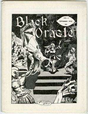 BLACK ORACLE #4 (1970) MINI FANZINE / SCARS OF DRACULA / ROBERT BLOCH INTERVIEW