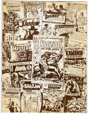 "BURROUGHS BULLETIN #30 (1973) FANZINE / FRAZETTA ""LUANA"" STRIP / ARTWORK"