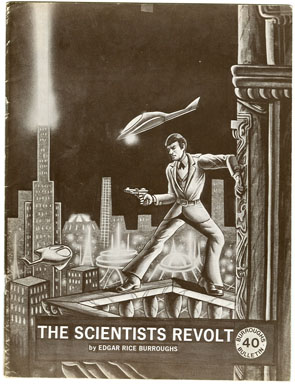 "BURROUGHS BULLETIN #40 (1974) FANZINE ""THE SCIENTISTS REVOLT"" PULP REPRINT KRUPA"