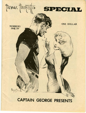CAPTAIN GEORGE PRESENTS #38/39 (1970s) NOSTALGIA FANZINE FRANK FRAZETTA REPRINTS