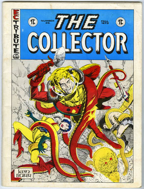 COLLECTOR #28 (1971) FANZINE / STAR TREK / THE SHADOW / ALAN HANLEY ART
