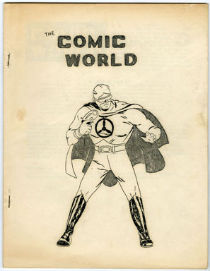 COMIC WORLD #5 (196?) FANZINE / SKYMAN / HANGMAN