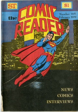 COMIC READER #165 FANZINE (1979) JERRY ORDWAY SUPERMAN COVER