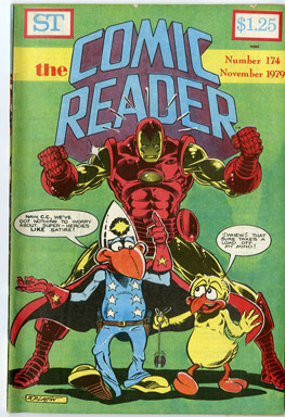 COMIC READER #174 FANZINE (1979) BOB LAYTON IRON MAN / HULK COVERS