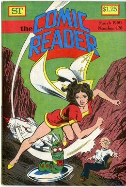 COMIC READER #178 FANZINE (1980) DAVE HUNT MARY MARVEL COVER