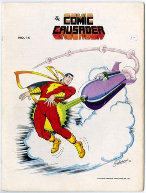 COMIC CRUSADER #15 (1973) FANZINE / STEVE DITKO / DAVE GIBBONS / DON NEWTON