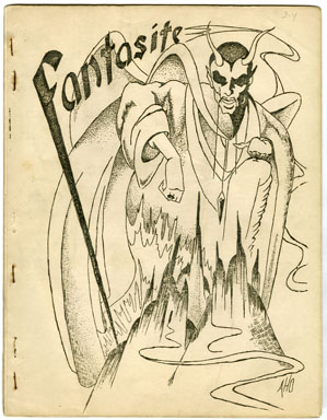 FANTASITE V2 #4 (1942) SCIENCE FICTION FANZINE