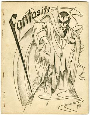 FANTASITE V2 #4 (1942) SCIENCE FICTION FANZINE