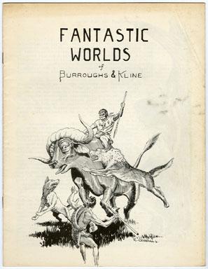 FANTASTIC WORLDS OF BURROUGHS & KLINE #1 (1965) REED CRANDALL