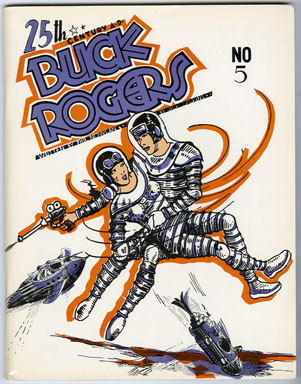 GREAT CLASSIC NEWSPAPER COMIC STRIPS #10 - BUCK ROGERS (1969) FANZINE