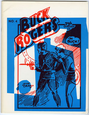 GREAT CLASSIC NEWSPAPER COMIC STRIPS #8 - BUCK ROGERS (1968) FANZINE