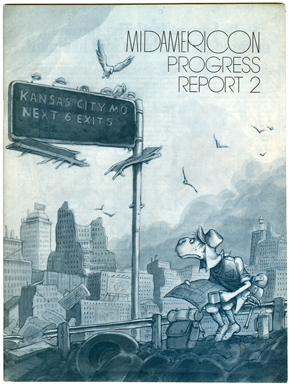MIDAMERICON PROGRESS REPORT #2 (1975) FANZINE