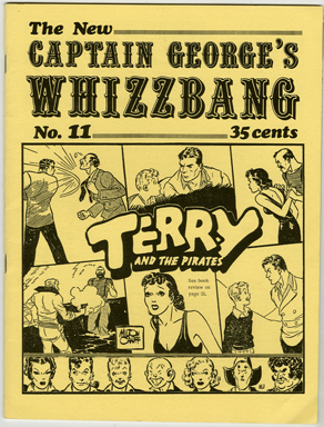CAPTAIN GEORGE'S WHIZZBANG #11 FANZINE (1971) SUSAN HAYWARD / MOVIE STUNTMEN