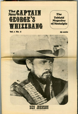 CAPTAIN GEORGE'S WHIZZBANG #5 FANZINE (1969) SUPERMAN IN RADIO / BEN JOHNSON INTERVIEW