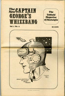 CAPTAIN GEORGE'S WHIZZBANG #6 FANZINE (1969) THE PULPS / MOVIE HORSES / BUCK ROGERS