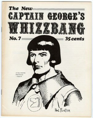 CAPTAIN GEORGE'S WHIZZBANG #7 FANZINE (1969) HAL FOSTER / ROY BARCROFT